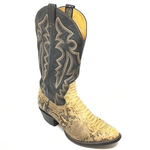 Panhandle Slim Western Boots Size 9 Brown Python